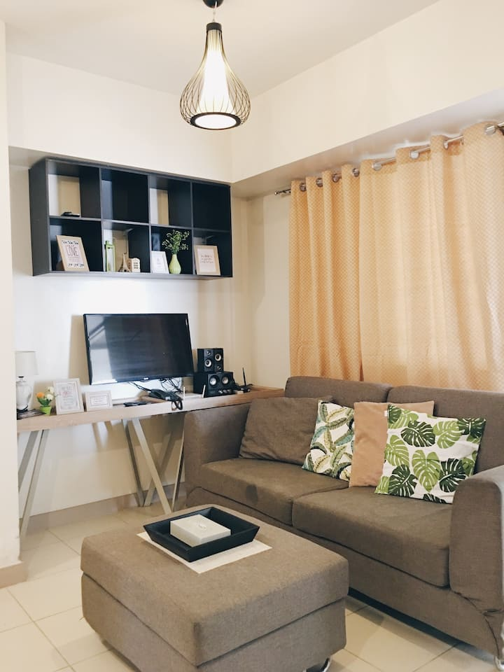 1BR CLEAN & SPACIOUS FULLY FURNISHED W/FAST WIFI