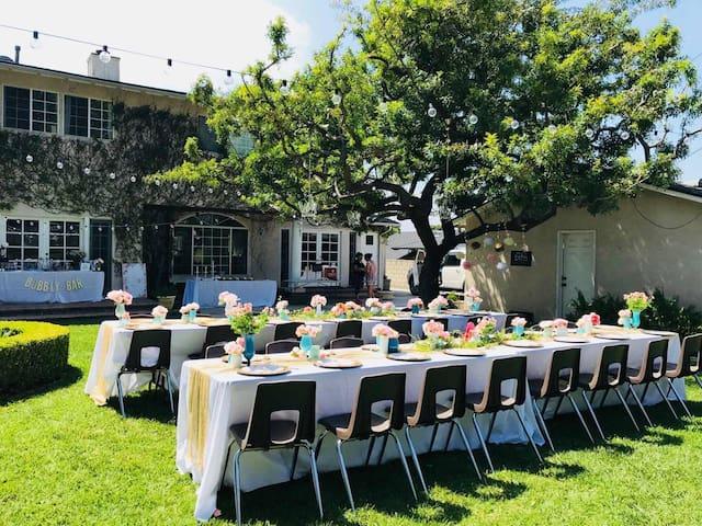 Beautiful Backyard Garden Party