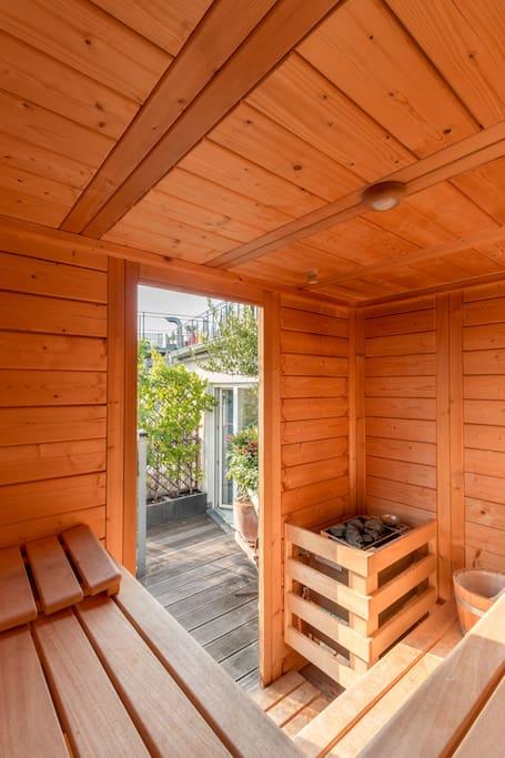 Sauna available 365 days