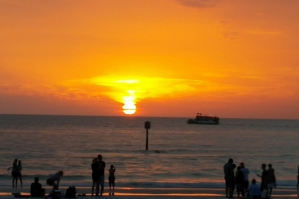 Sunsets at Clearwater Beach