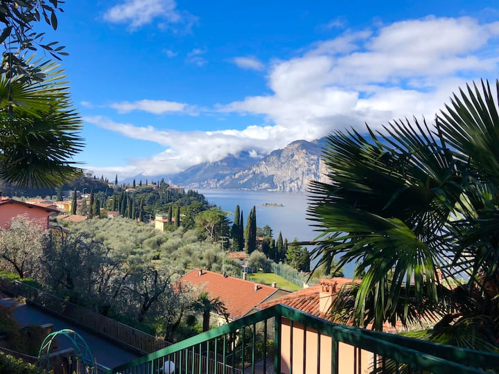 Malcesine Villa Emma Lake view