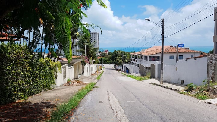 Natal House close to sea