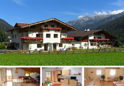 Landhaus Müller - Fewo (53m²) mit Balkone und Spa - Neustift im Stubaital
