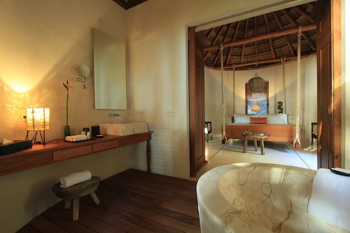Hacienda Chekul Beach Villa (up to 6 guests) - Tulum - Villa