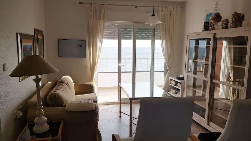 Apartamento en primera línea de playa en El Portil - El Portil - Leilighet