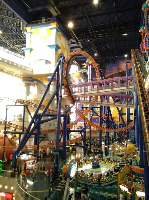 TIME SQURE indoor theme park