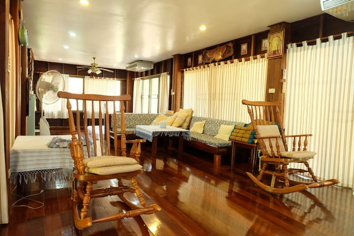 บ้านป่าริมธาร B123 กาญจนบุรี - Kanchanaburi - House