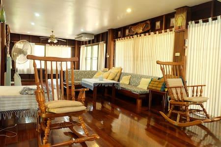 บ้านป่าริมธาร B123 กาญจนบุรี - Kanchanaburi - Дом