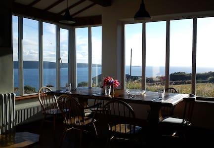 Stunning sea views by coastal path - Broad Haven