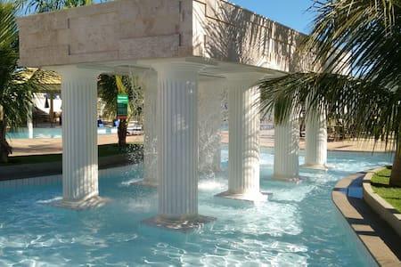 Flat L'acqua diRoma, Lindo Resort. - Caldas Novas - Condominium