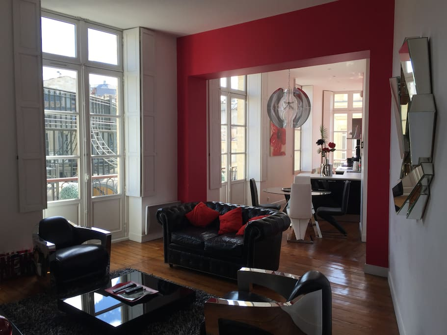 Bordeaux triangle d 39 or luxueux t3 appartements louer for Appartement bordeaux triangle d or
