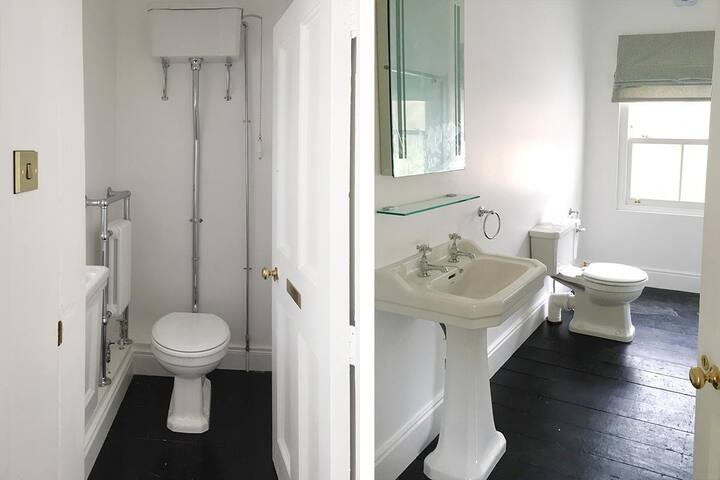Your private bathroom with additional w.c.