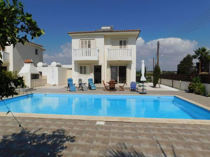 VILLA MAZOTOS BEACH *Private Pool*   *Seaview*