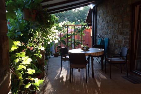 Peaceful cozy apartment in Istria - Marezige - Rumah