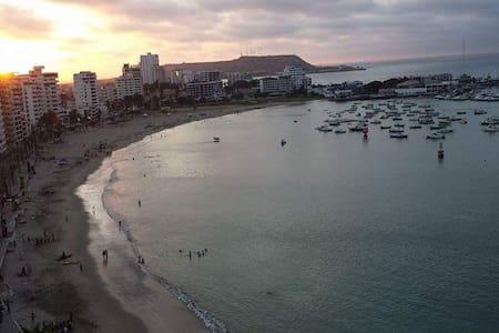 Ocean View, beach front, 4 bedrooms apart - Salinas - Byt