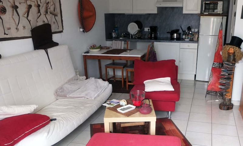 Appartement cosy proche des péniches