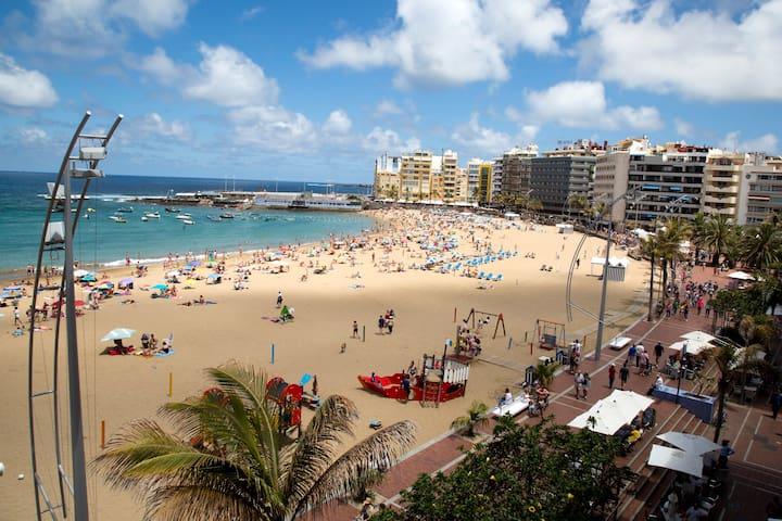 Terraza a la playa