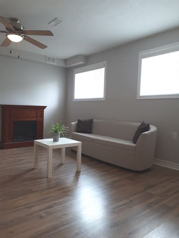 Near highway, spacious one  bedroom apartment