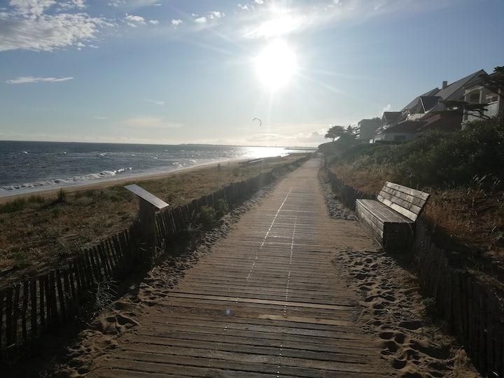 A 2 pas de la magnifique plage de Bonne Source !