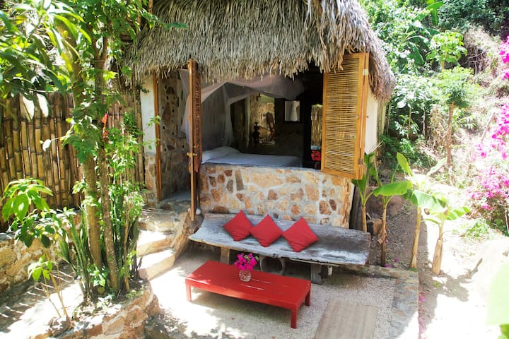 Vereda-Palapa Primavera-Dream with Art in Paradise - Yelapa - Mökki