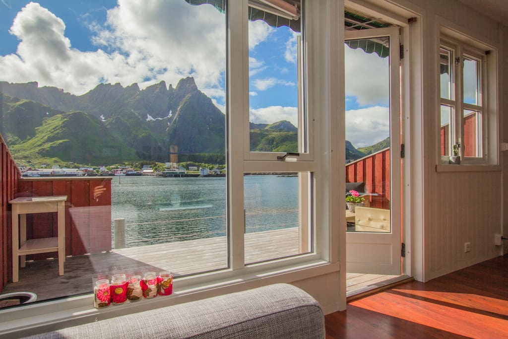 Enjoy the view from the living room