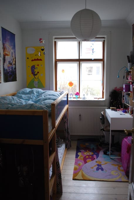 Children room. Bunkbed