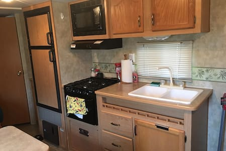 Travel Trailer with all amenities needed