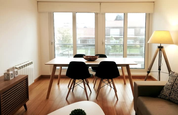 Modern apartment two bedrooms + views