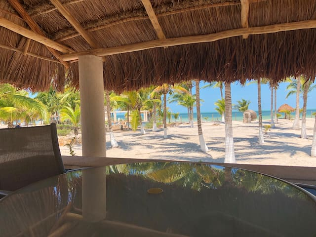 Beach house in Telchac ideal for parties!