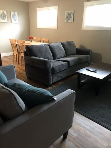 Beautifully furnished 2 bedroom and 1 bath suite