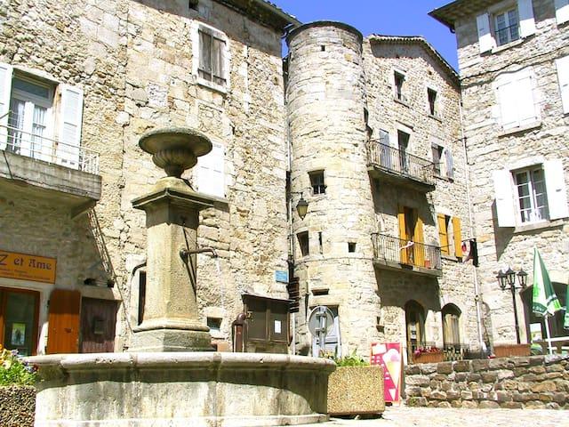 Havre de paix au cœur Parc Naturel Monts Ardèche - Rocles - บ้าน