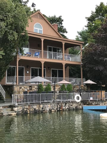 Spacious Lakeside Home with Dock
