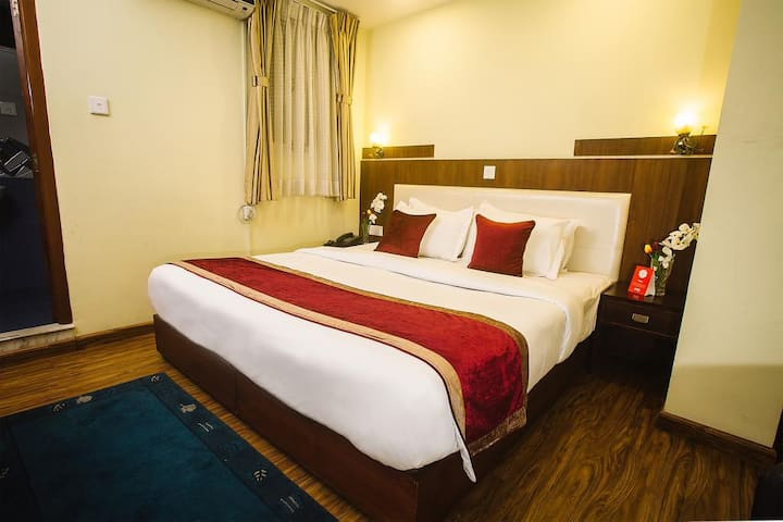Double Room with Terrace at Backyard Hotel