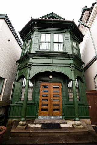 TACHIKAWA FAMILY'S HOUSE洋館<Guest House>