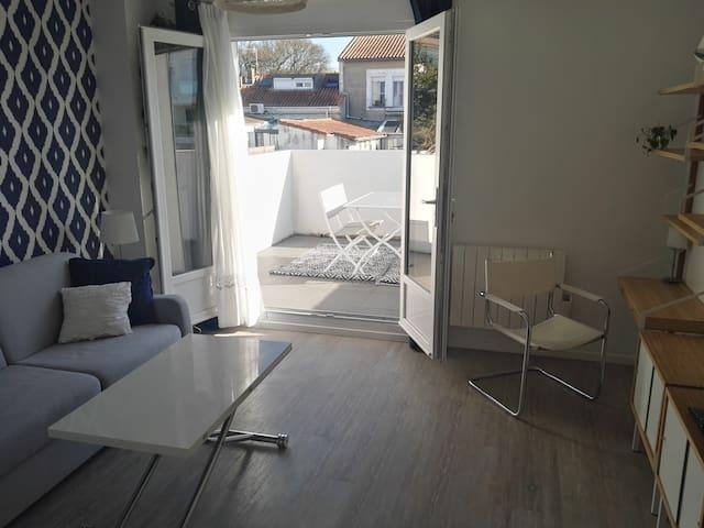 T2 meublé Centre de Royan dans quartier calme