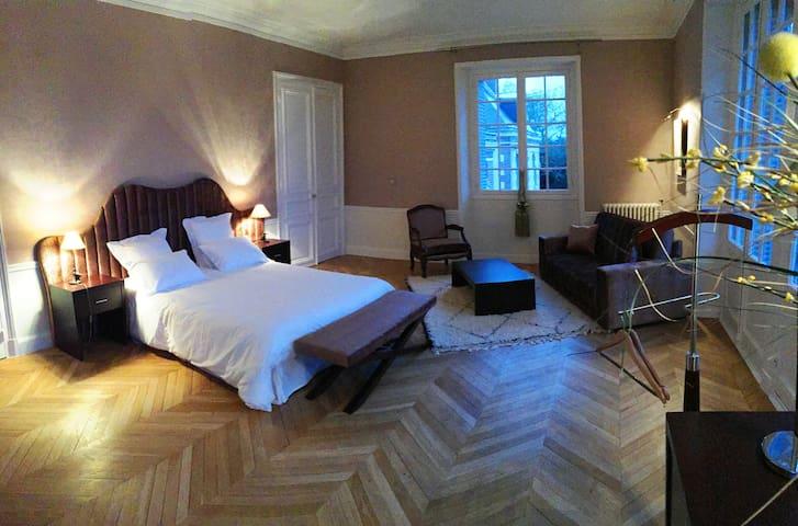 4 suites au Château de La Faye - Ménétréol-sur-Sauldre - Slott