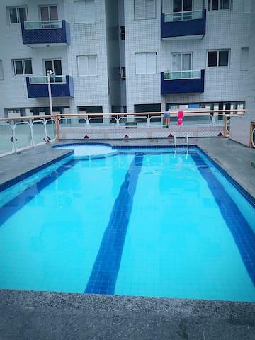 area da piscina não disponivel