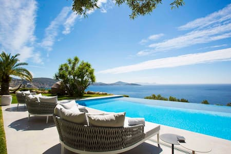 LUXURY villa with INFINITY POOL and AMAZING VIEWS - Sant Josep de sa Talaia - Vila