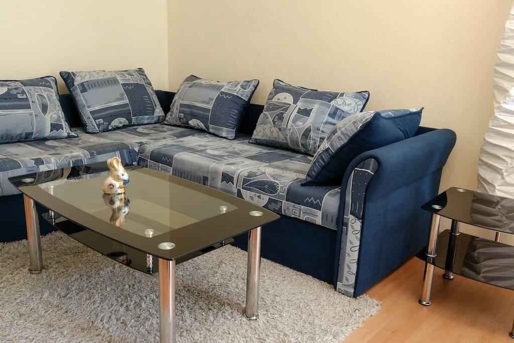 gemütliche Couch für die ganze Familie