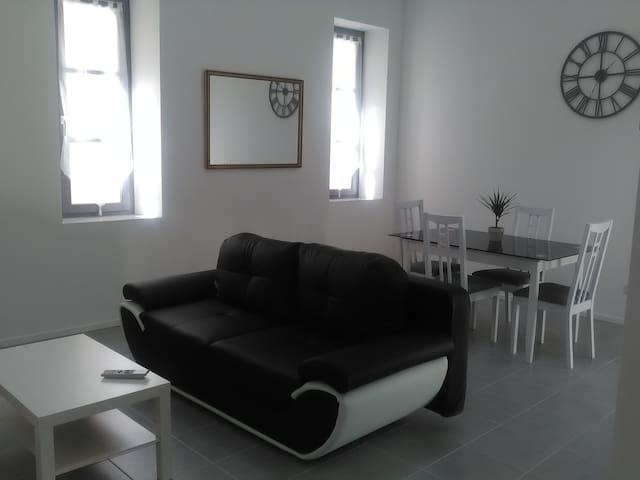 loft 50 m2 , plein centre ville,  au calme