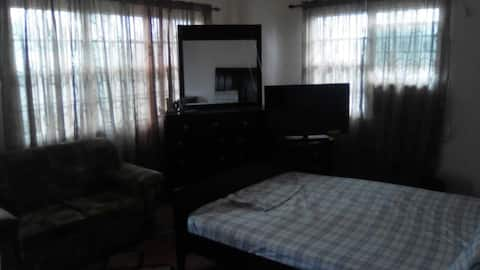 Spacious AC room in private Home in Linden GUYANA