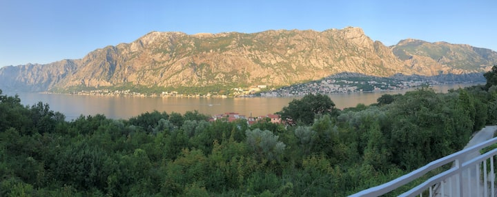 Penthouse Apartment over Kotor bay