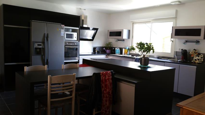2P charmante maison proche de Caen - Fontenay-le-Marmion - Casa
