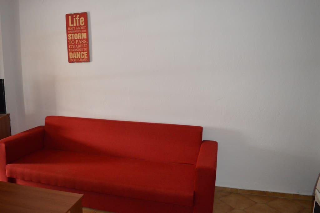 καναπές που ανοίγει