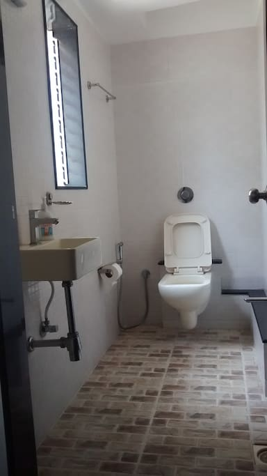Attached bathroom to your room