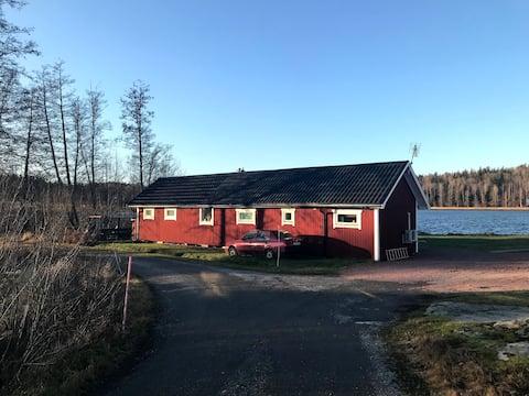 Lake House by Frötuna Kyrksjö, Roslagen