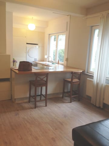 Cosy studio in nice neighborhood (Stockel) - Woluwe-Saint-Pierre - Byt