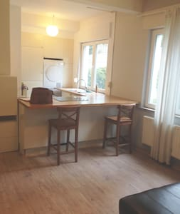 Cosy studio in nice neighborhood (Stockel) - Woluwe-Saint-Pierre - Lejlighed
