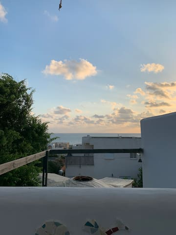 The view from our rooftop/ הנוף מהגג