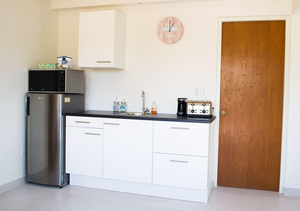 Fully Equipped Kitchen (with electronic Burner)